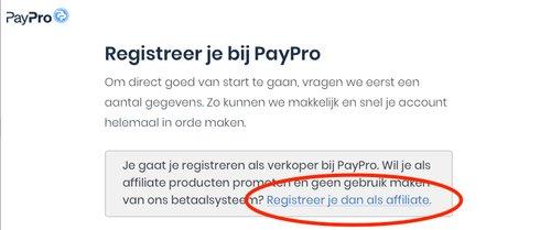 aanmelden paypro