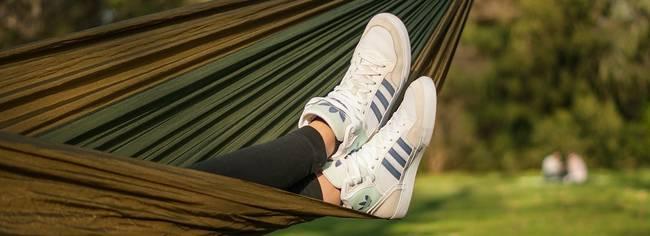 schoenen hangmat