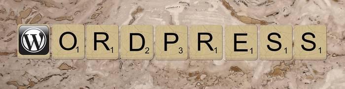 wordpress in letters geschreven