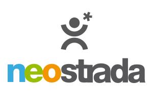 Het log van Neostrada met een poppetje en een sterretje