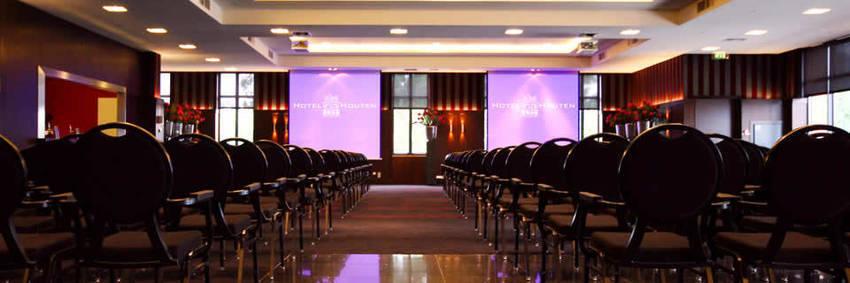 Een seminar zaal in Hotel van Houten