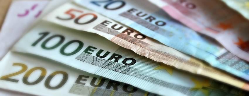 Bankbiljetten van verschillende waardes