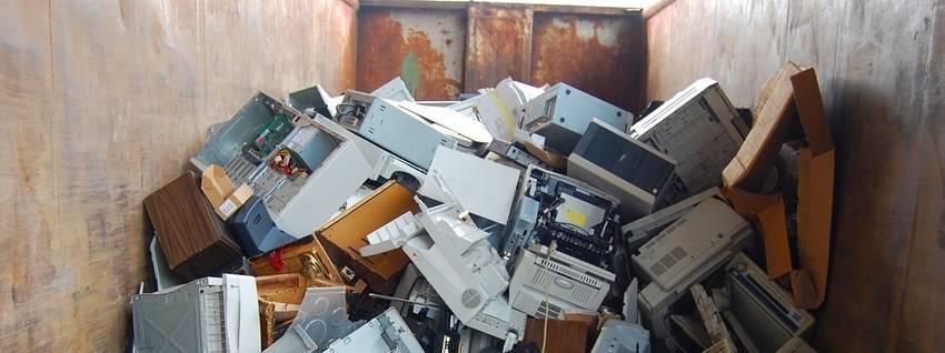 Een container vol met waardevolle afval