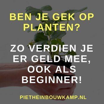 planten verkopen