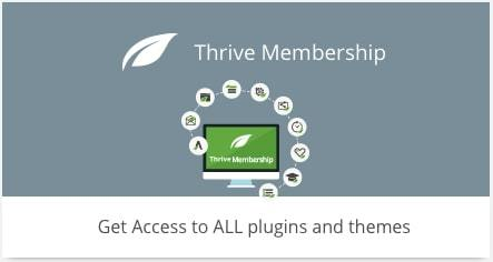 thrive membership plugins